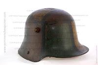 German Stahlhelm wiht excellent camouflage