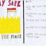 Sea safety checklist - Leigh