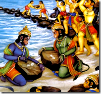 [Rama's alliance with the Vanaras]
