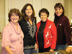 Donna Marshall, Charlotte Smart, Susie Bell and Cari Perlingiero. Photos by Deb Schneider.