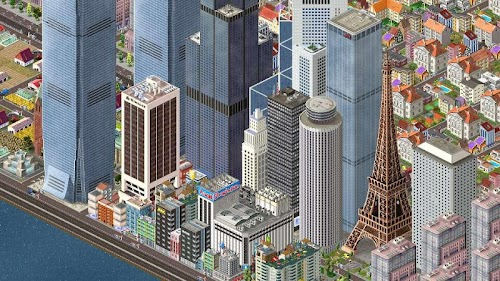 Screenshot 1 TheoTown City Simulation 1.5.79 APK MOD