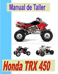 honda trx 450 manual-taller-servicio-despiece