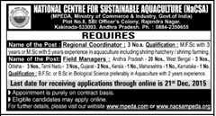 NaCSA MPEDA Advertisement www.indgovtjobs.in