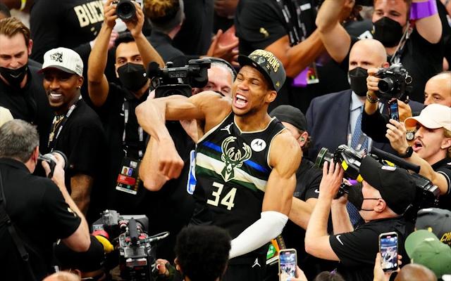 Υπόκλιση των αστέρων του NBA σε Μπακς και Γιάννη Αντετοκούνμπο