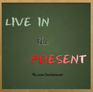 are you living in the present?