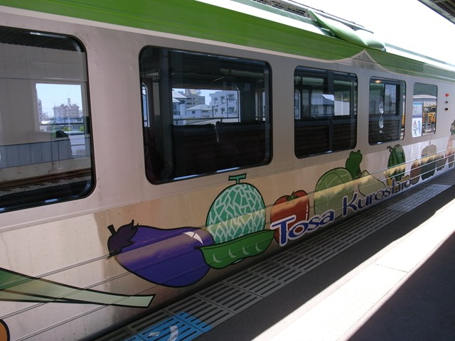 オープンデッキ型観光列車