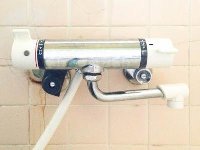 取付けするシャワー混合水栓