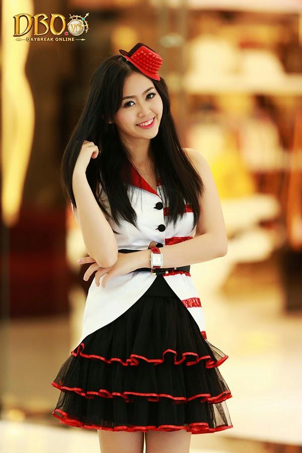 Ngắm bộ ảnh cực đẹp của các hotgirl Daybreak Online 25