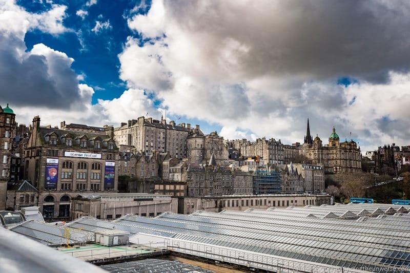 Edinburgh International Science Festival skyline