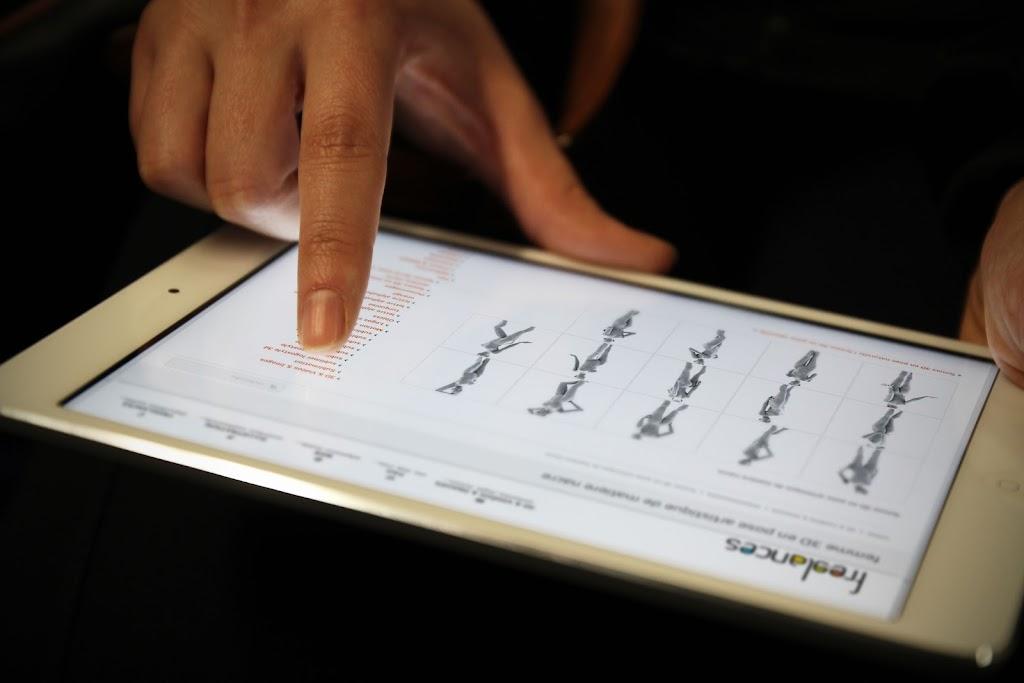 conception site web adaptatif capture écran pour tablettes tactiles iPad mini sublimer présentation responsive web design // paris +33 06 8528 9977