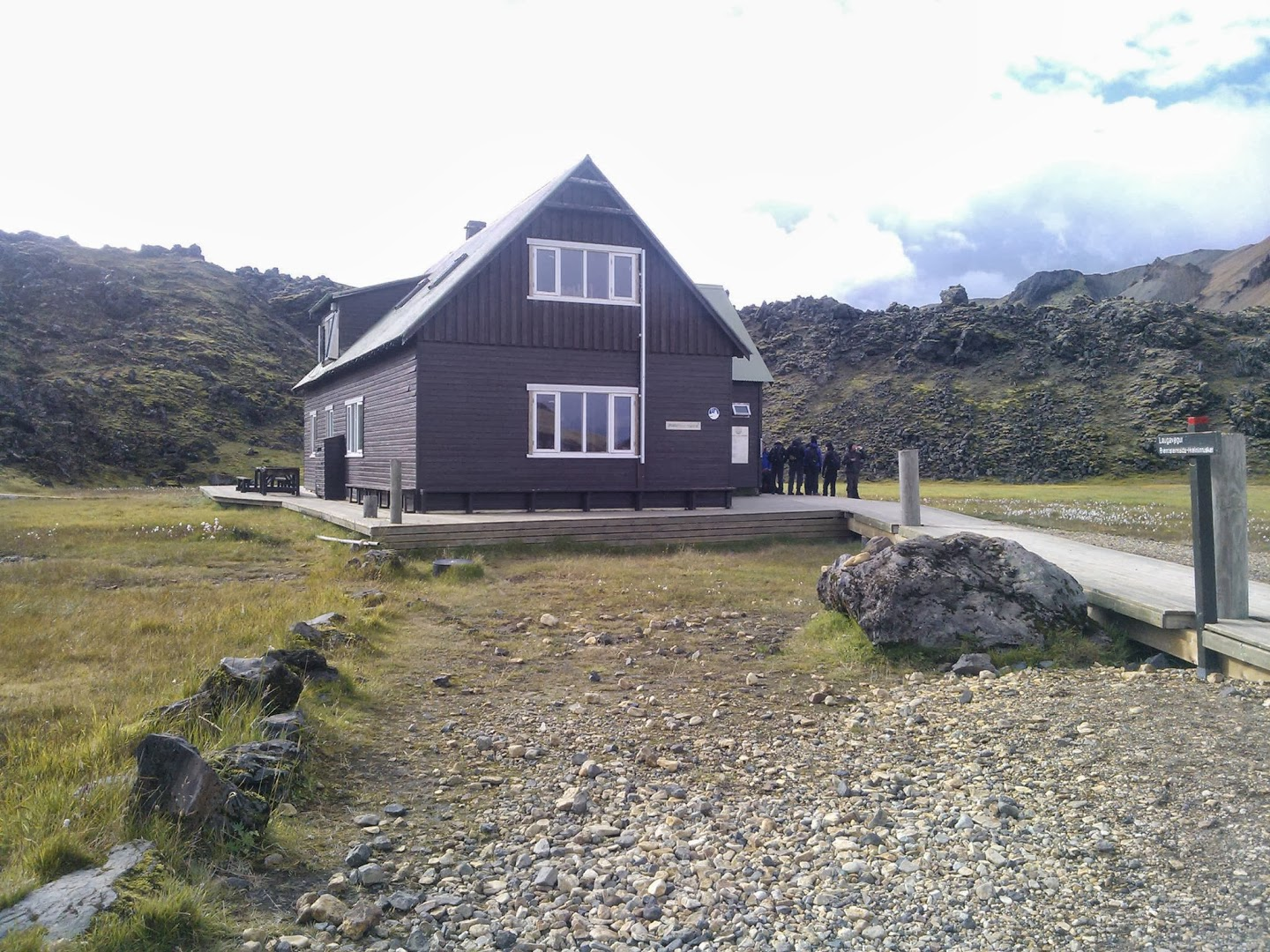 Landmannalaugar hut. TH