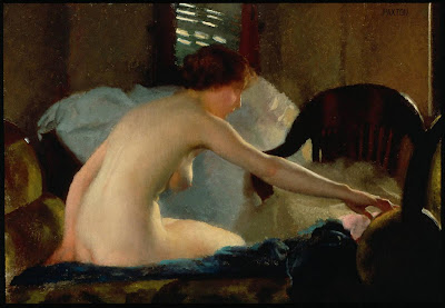 William McGregor Paxton - Nude