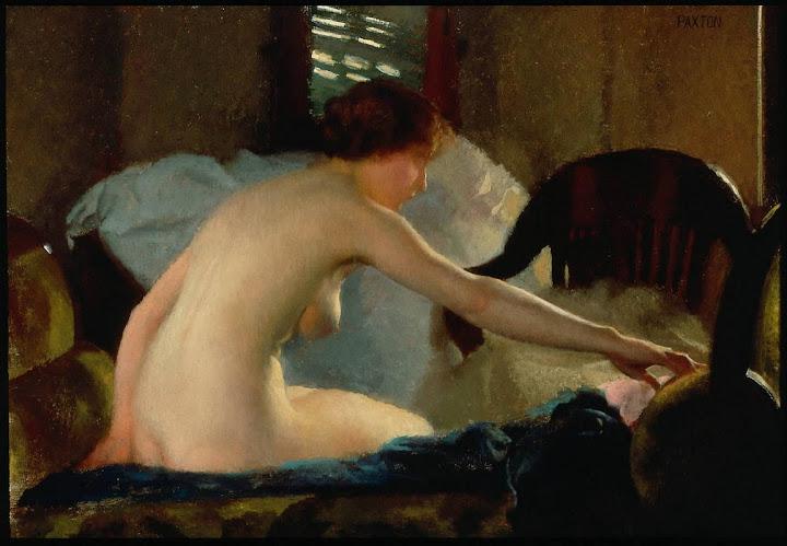 William McGregor Paxton - Nude