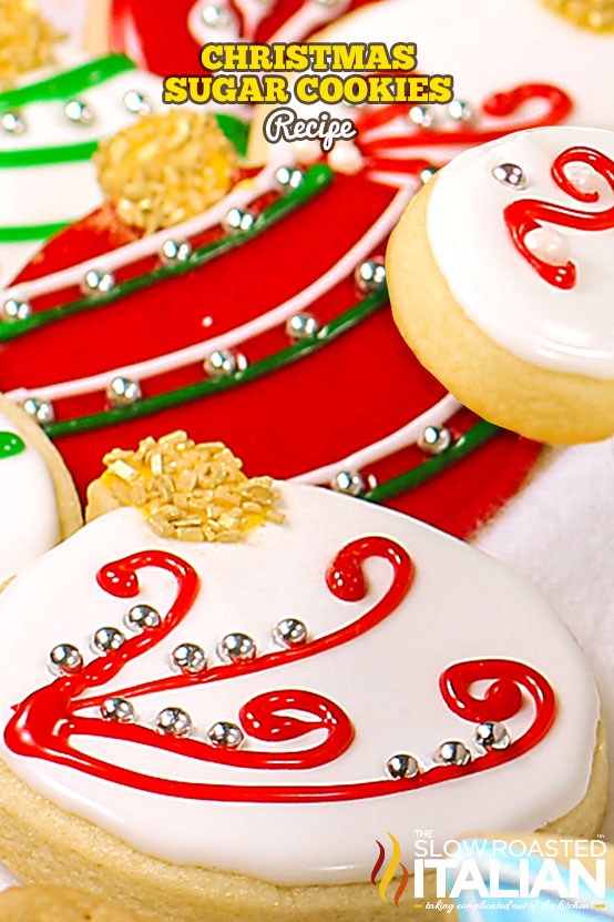 Title text (shown in a pile): Christmas Sugar Cookies