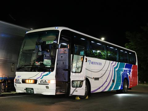 名鉄バス「名古屋~新潟線」 2607 阿智PAにて