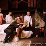 Paul Dedrick, Ryan Davis, Mark Stephens, Amy Lamena, Meigg Jupin, Phil Sheehan, Sally Farrell and Jimmy Cupp in LEADING LADIES - October 2011.  Property of The Schenectady Civic Players Theater Archive.