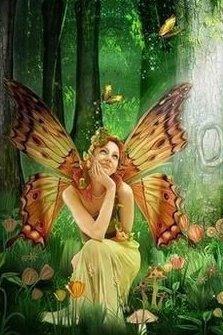 Green Magic Fairy, Fairies Girls