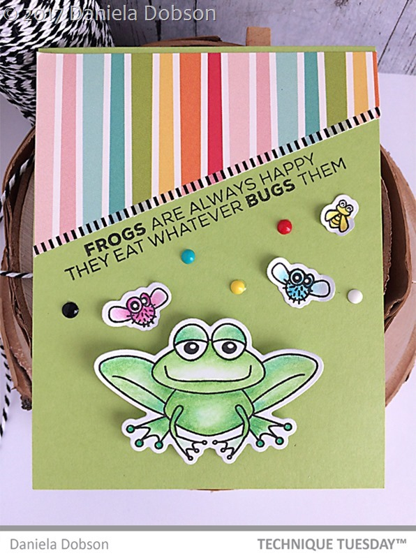 Frogs are happy by Daniela Dobson
