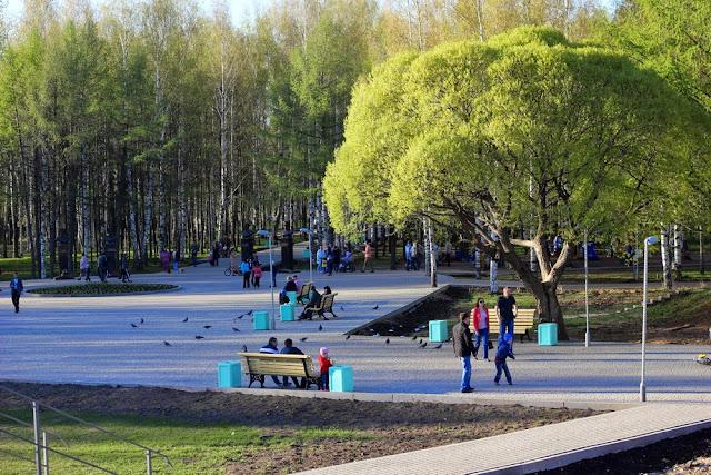 О жизни: Парк Победы