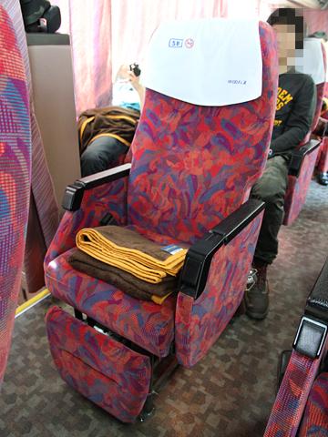 中国バス「メイプルハーバー」  ・912 シート
