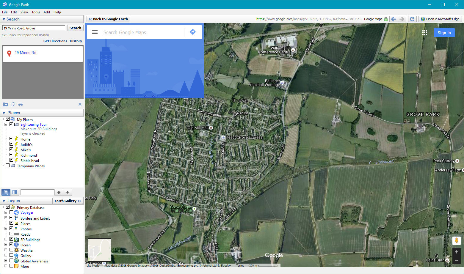 Google earth won\'t switch to map - Google Maps Help