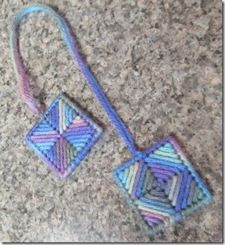 kaleidoscope bookmark