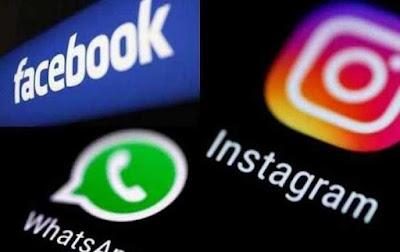 عطل مفاجئ في الفيسبوك و واتس آب و إنستغرام 