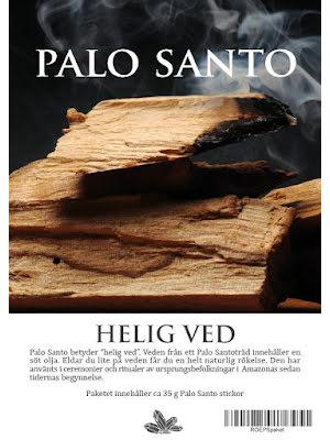 Palo Santo (holy stick) naturlig rökelse