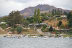 We moved inland to Wanaka seeking sunnier skies and improved accomodation.