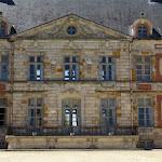 Château de Courson : façade sur cour