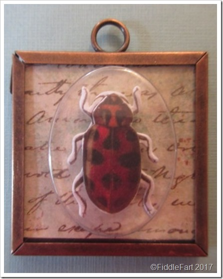 Insect Memory Frame Pendant 2