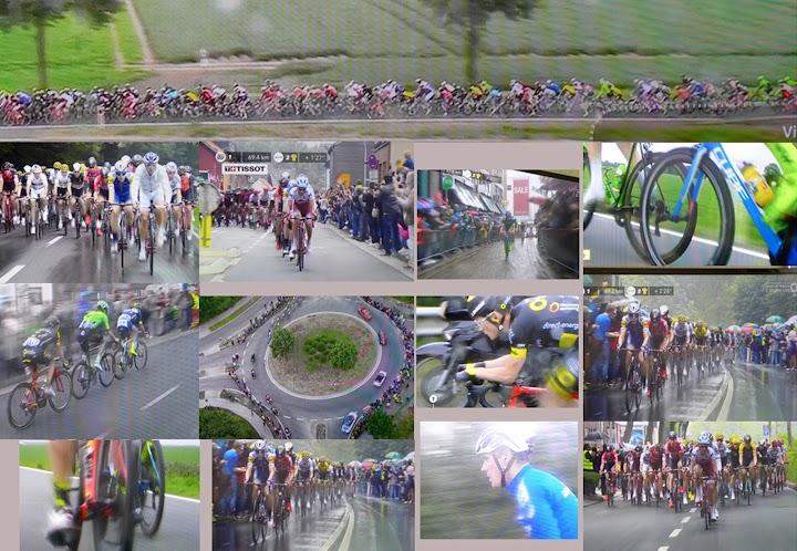 Foto-Tableau: «Tour de France».