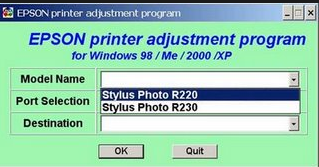 Free download resetter epson r230