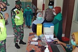 19 Tim Medis Mengawali Terima Vaksin Sinovac Di Wilayah Binaan Koramil 13/Wonorejo Kodim 0819/Pasuruan