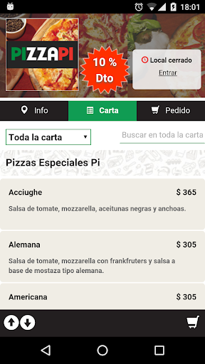 Pizzapi  screenshots 1