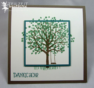 Stampin' Up! - In{k}spire_me #208, Sheltering Tree, Baum der Freundschaft, Tausend Dank, Lots of Thanks, Color Challenge