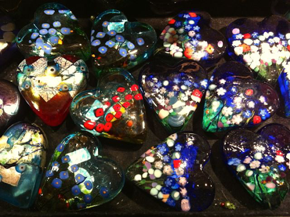 A drawer full of holiday hearts at Calgary's Rubaiyat Gallery (submitted by Ingrid L.)