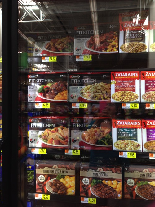 Stouffer's Fit Kitchen meals at Walmart