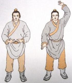 Третий кусок - Поднятием рук приводить к гармонии селезенку и желудок