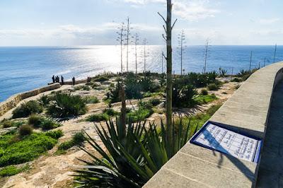 Geocaching auf Malta: Der Süden - Die Blaue Grotte: Der Aussichtspunkt