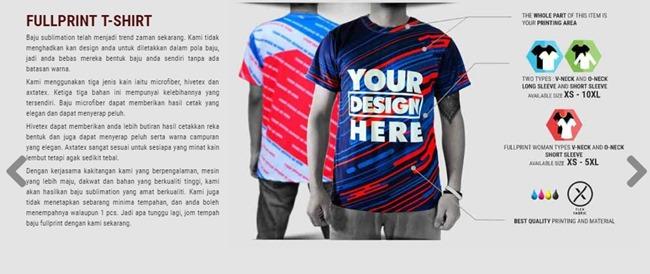 cara design di custom online
