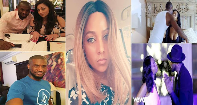 Peter Okoye's Wife Lola Omotayo Reacts To Her Husband's New Music Video