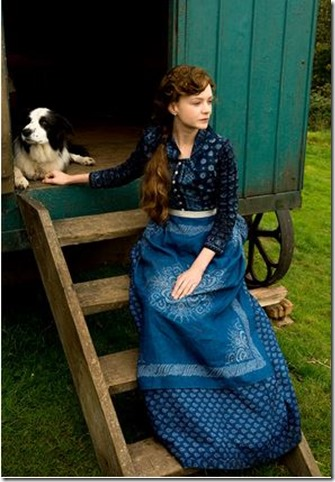 Far from the madding crowd Wagon with Dog