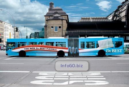 Autobus cetkica