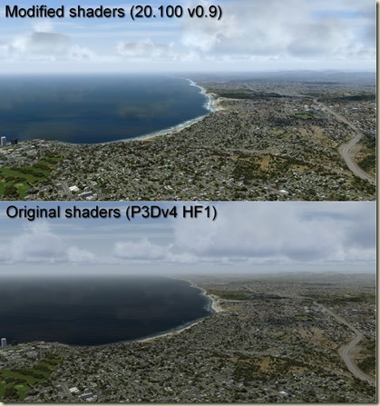 Mount Soledad - Default vs PTA 20.100 v0.9 Comparison pictures