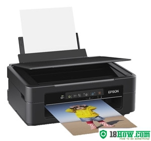 How to Reset Epson XP-212 flashing lights problem