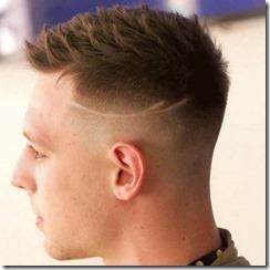 Spiky Hair Fade
