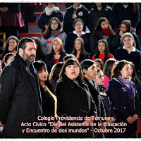 """Acto Civico """"Dia del Asistente de la Educación"""" 2 Octubre 2017"""