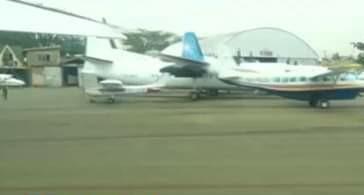 Jets at Wilson Airport, angle photo. PHOTO | BNC