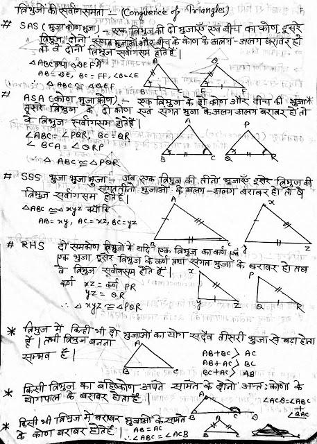 TRIANGLE & Circle: त्रिभुज व वृत-उसकी स्पर्श रेखाओं से